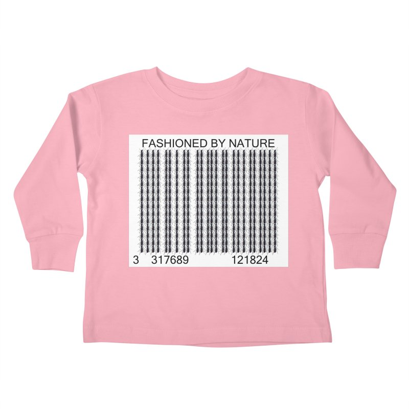 Ant Barcode Kids Toddler Longsleeve T-Shirt by FashionedbyNature's Artist Shop