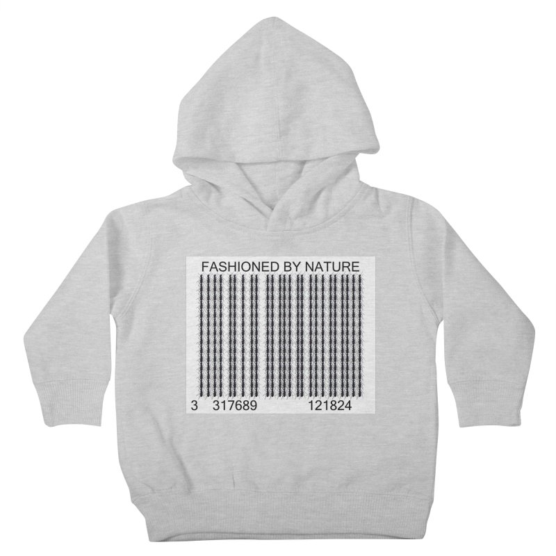Ant Barcode Kids Toddler Pullover Hoody by All Fashioned by Nature Artist Shop