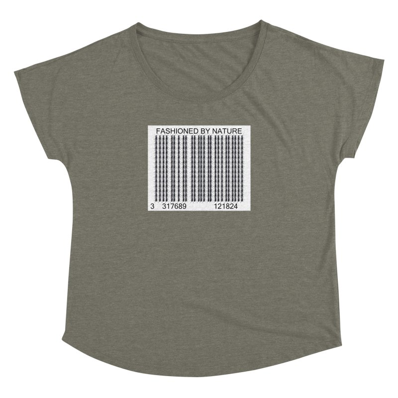 Ant Barcode Women's Dolman Scoop Neck by FashionedbyNature's Artist Shop