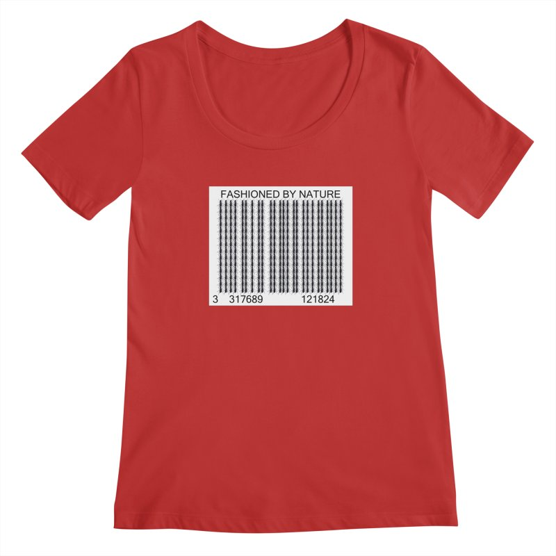 Ant Barcode Women's Regular Scoop Neck by FashionedbyNature's Artist Shop