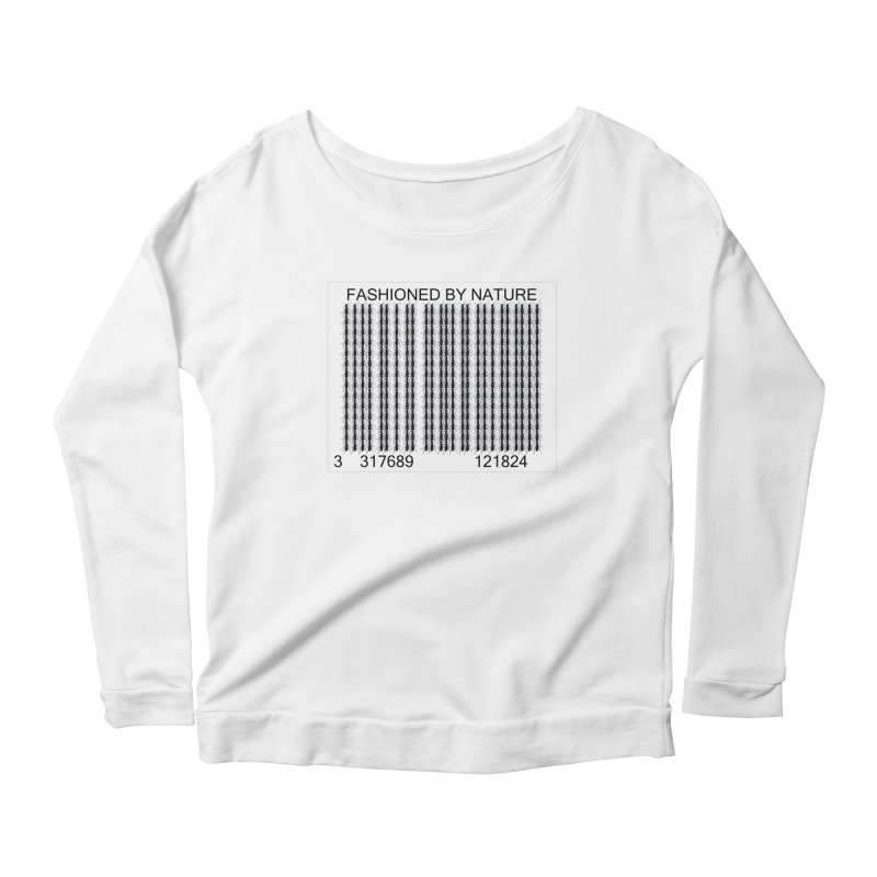 Ant Barcode Women's Scoop Neck Longsleeve T-Shirt by FashionedbyNature's Artist Shop
