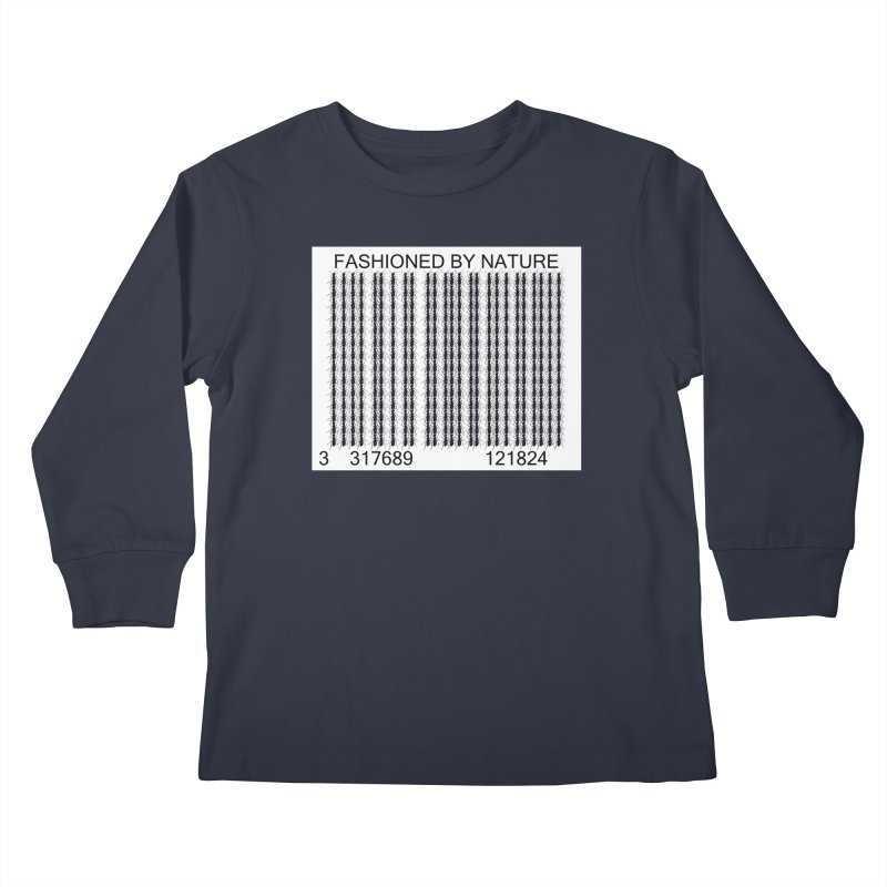 Ant Barcode Kids Longsleeve T-Shirt by All Fashioned by Nature Artist Shop