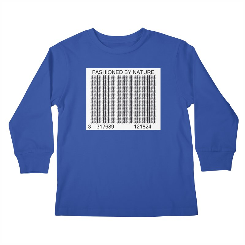 Ant Barcode Kids Longsleeve T-Shirt by FashionedbyNature's Artist Shop