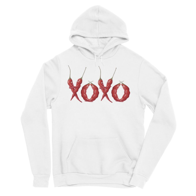 XOXO Chilies Women's Pullover Hoody by FashionedbyNature's Artist Shop
