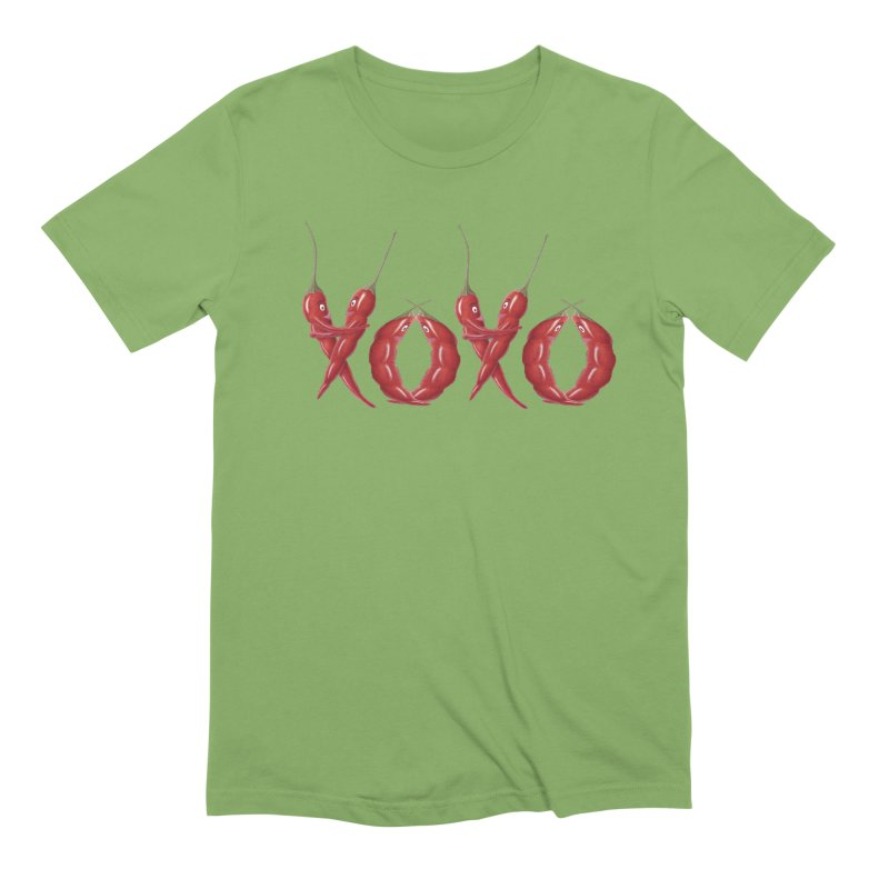 XOXO Chilies Men's Extra Soft T-Shirt by FashionedbyNature's Artist Shop