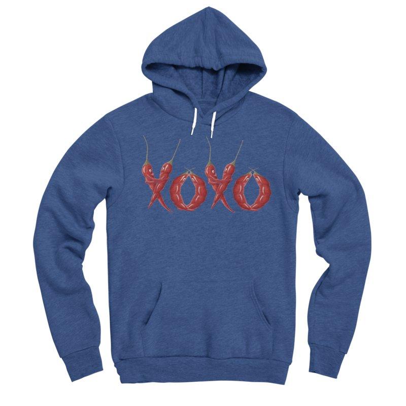 XOXO Chilies Women's Sponge Fleece Pullover Hoody by FashionedbyNature's Artist Shop