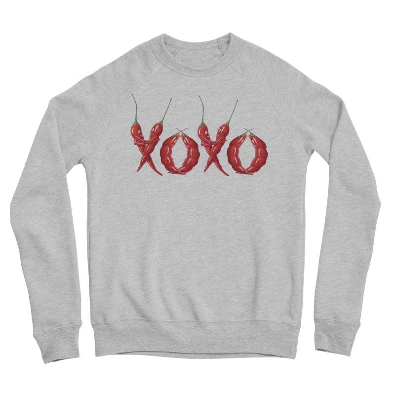 XOXO Chilies Women's Sponge Fleece Sweatshirt by FashionedbyNature's Artist Shop