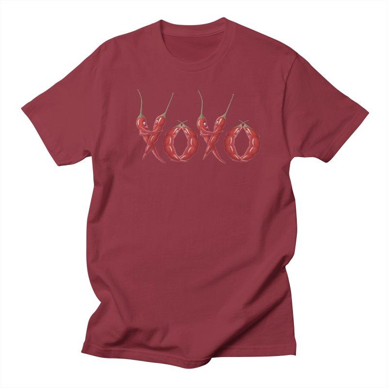 XOXO Chilies Men's T-Shirt by FashionedbyNature's Artist Shop