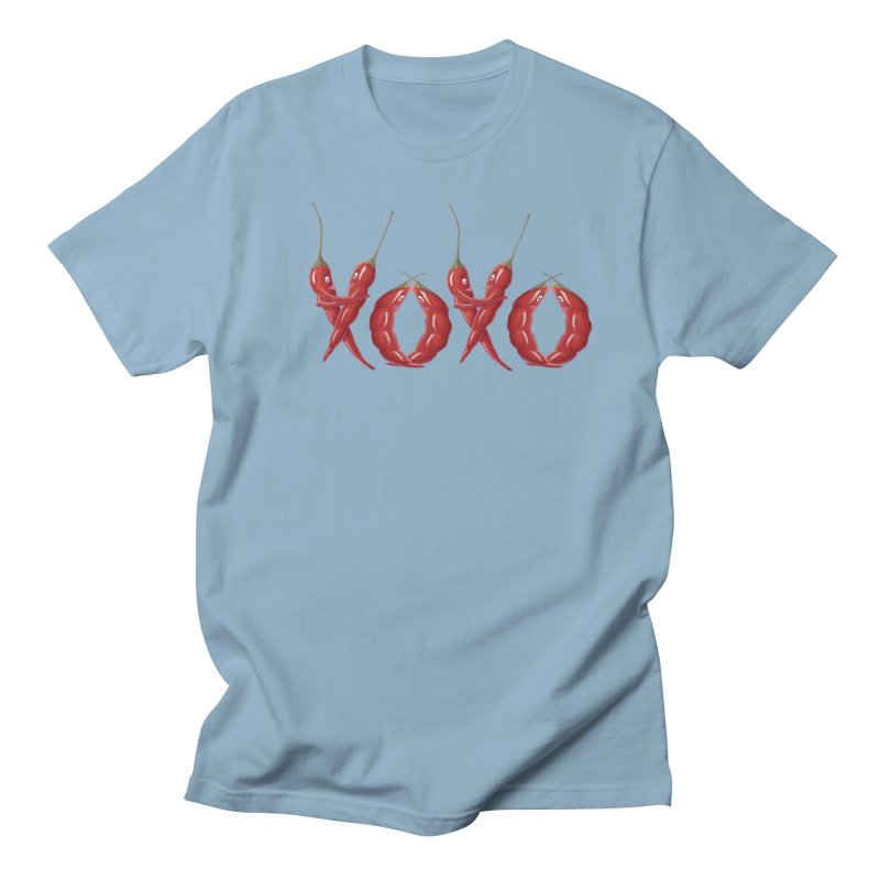 XOXO Chilies Men's T-Shirt by FashionedbyNature's Artist Shop