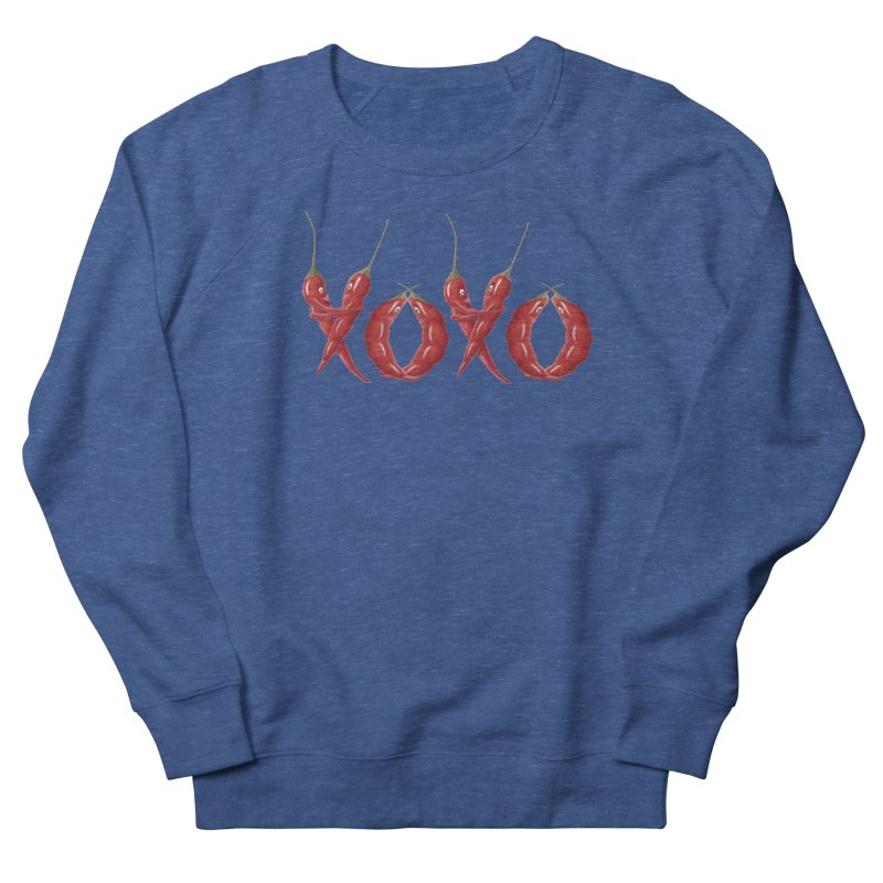 XOXO Chilies Men's Sweatshirt by FashionedbyNature's Artist Shop
