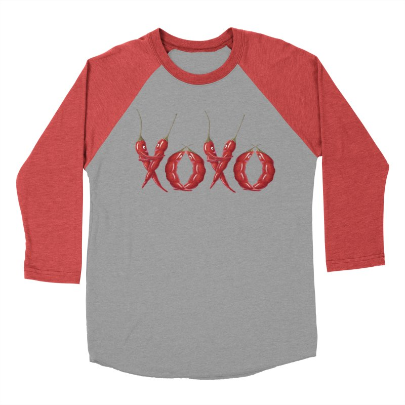 XOXO Chilies Men's Longsleeve T-Shirt by FashionedbyNature's Artist Shop
