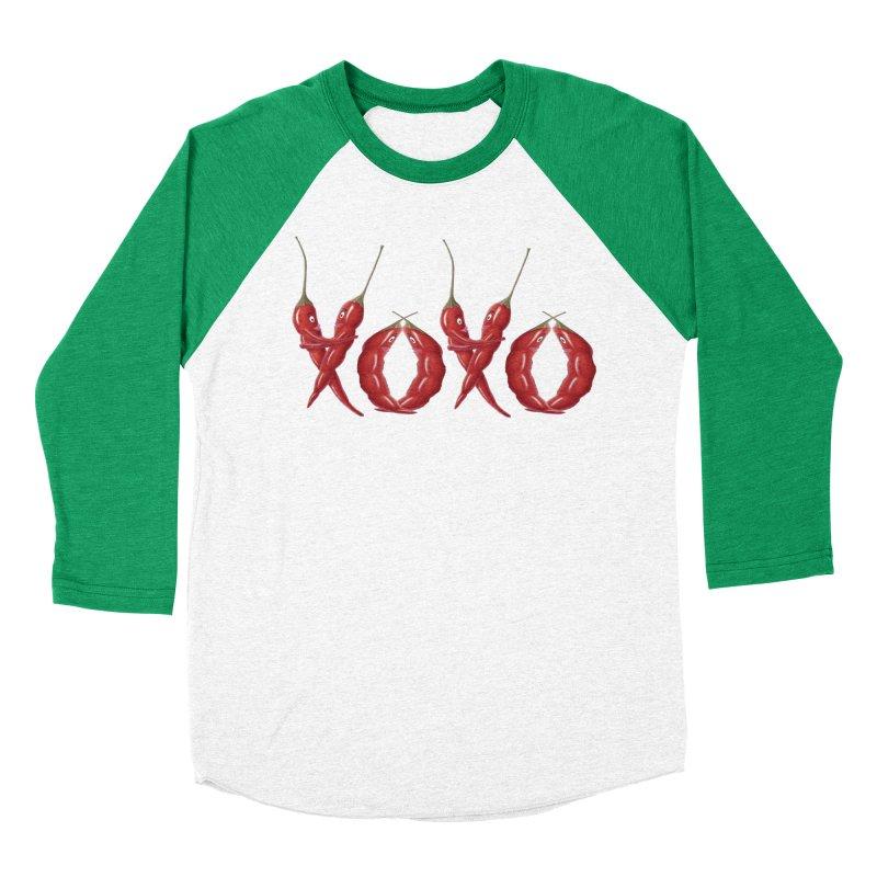 XOXO Chilies Men's Longsleeve T-Shirt by FashionedbyNature's Artist Shop