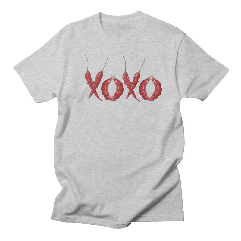 XOXO Chilies Women's Regular Unisex T-Shirt by FashionedbyNature's Artist Shop