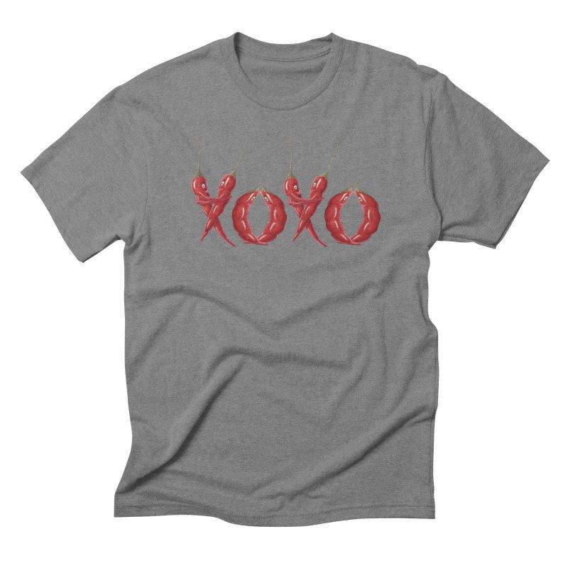 XOXO Chilies Men's Triblend T-Shirt by FashionedbyNature's Artist Shop
