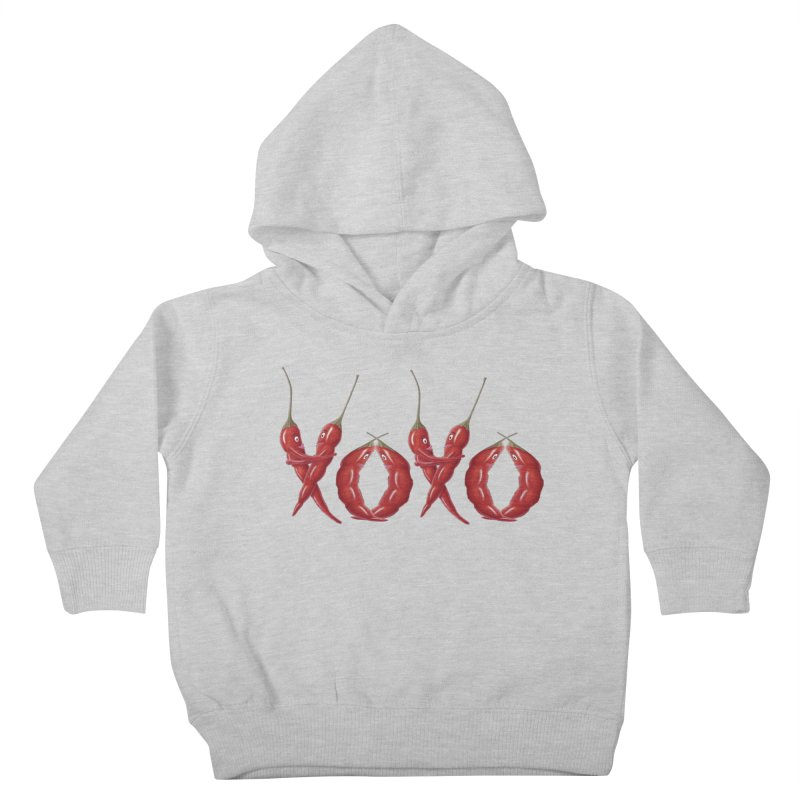 XOXO Chilies Kids Toddler Pullover Hoody by FashionedbyNature's Artist Shop