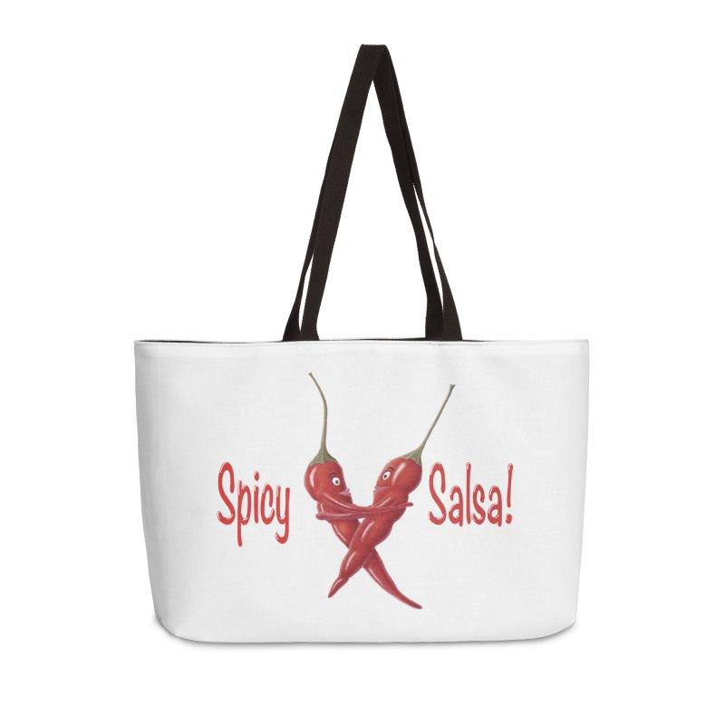 Spicy Salsa Accessories Weekender Bag Bag by FashionedbyNature's Artist Shop