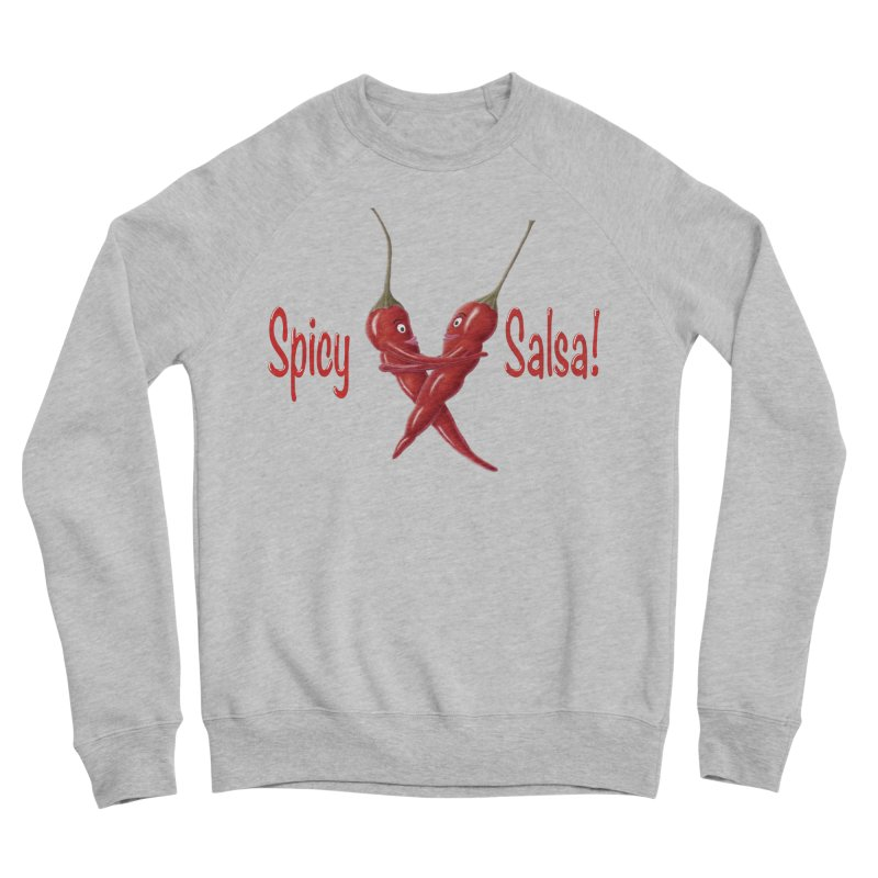 Spicy Salsa Men's Sponge Fleece Sweatshirt by FashionedbyNature's Artist Shop