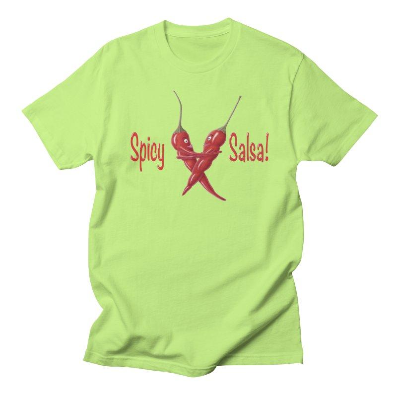 Spicy Salsa Men's T-Shirt by FashionedbyNature's Artist Shop