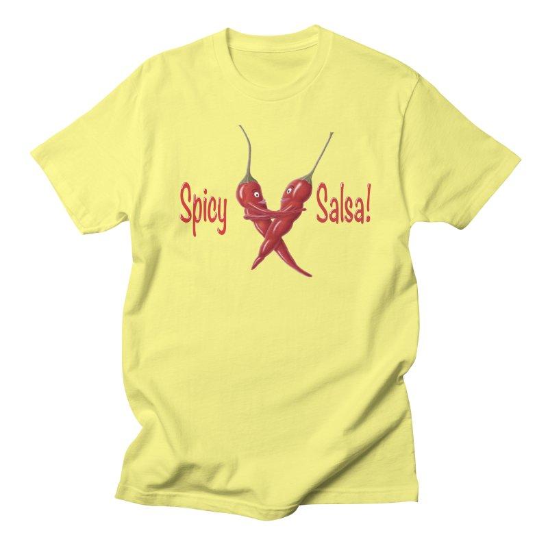 Spicy Salsa Men's Regular T-Shirt by FashionedbyNature's Artist Shop