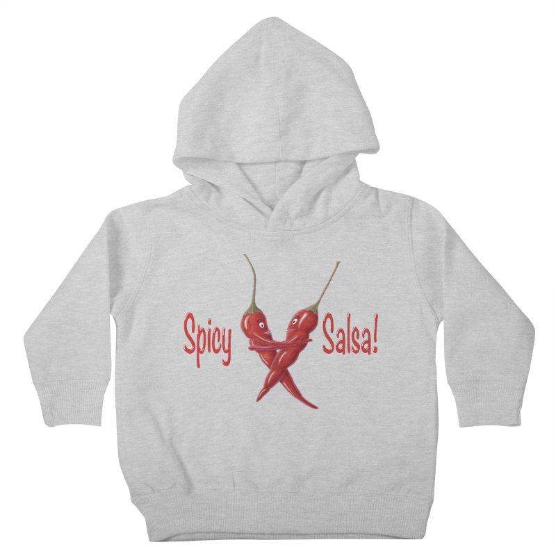 Spicy Salsa Kids Toddler Pullover Hoody by FashionedbyNature's Artist Shop
