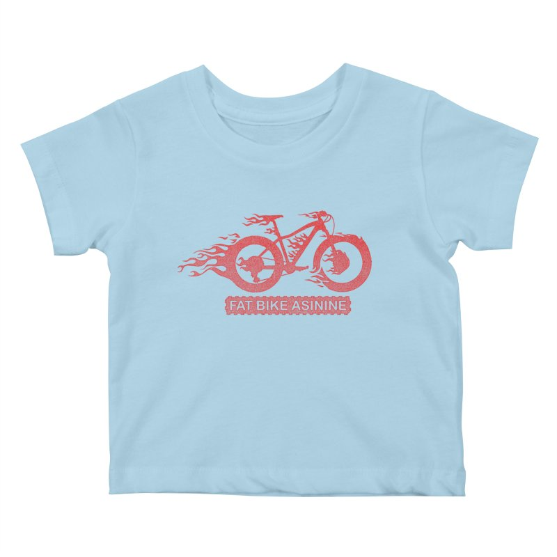 Hot Rod Fatty Kids Baby T-Shirt by Fat Bike Asinine's Artist Shop