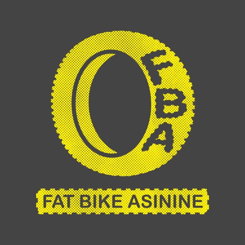 FBA Logo yellow by Fat Bike Asinine's Artist Shop