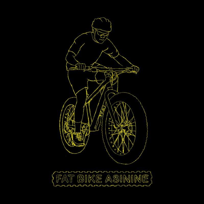 Fatty Hand Drawing Men's T-Shirt by Fat Bike Asinine's Artist Shop