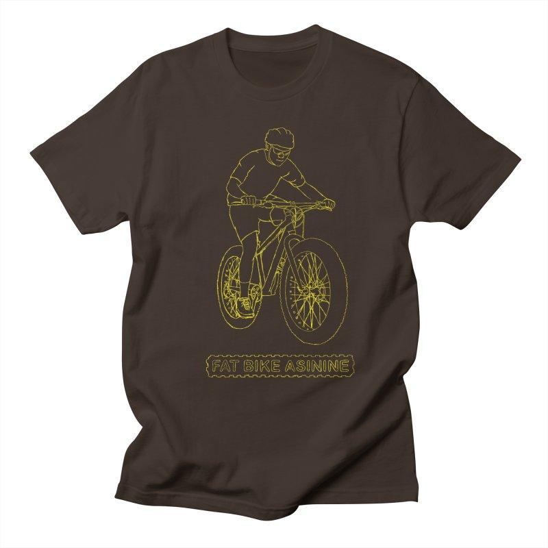 Fatty Hand Drawing Men's Regular T-Shirt by Fat Bike Asinine's Artist Shop