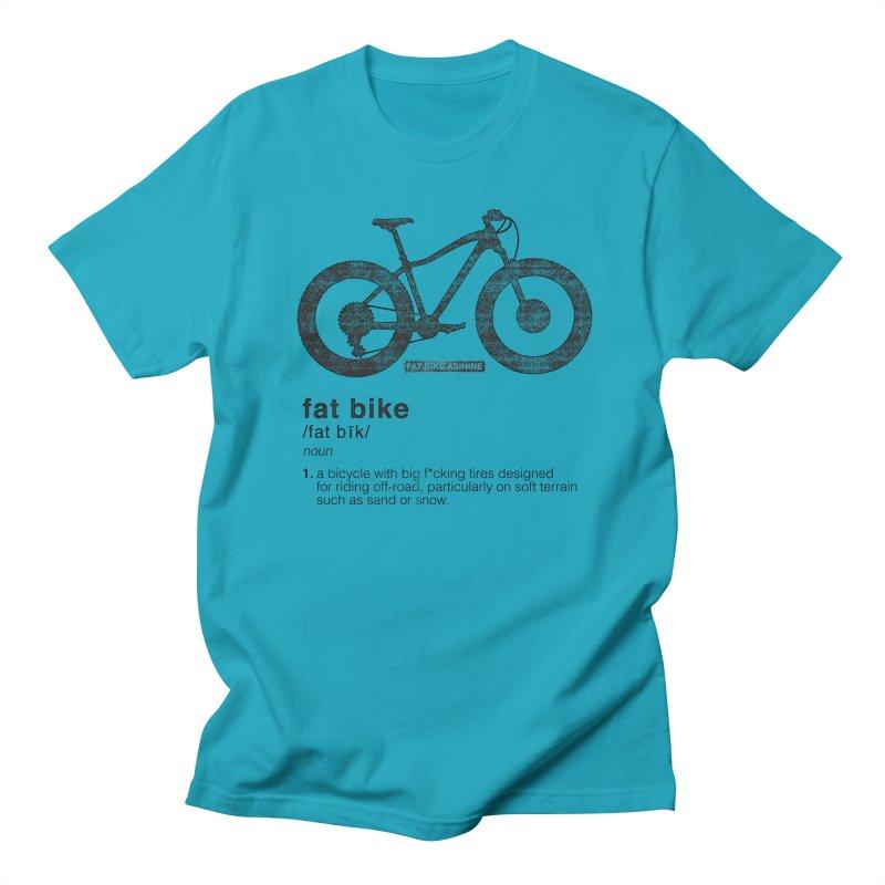 Dictionary Fat Bike Men's Regular T-Shirt by Fat Bike Asinine's Artist Shop