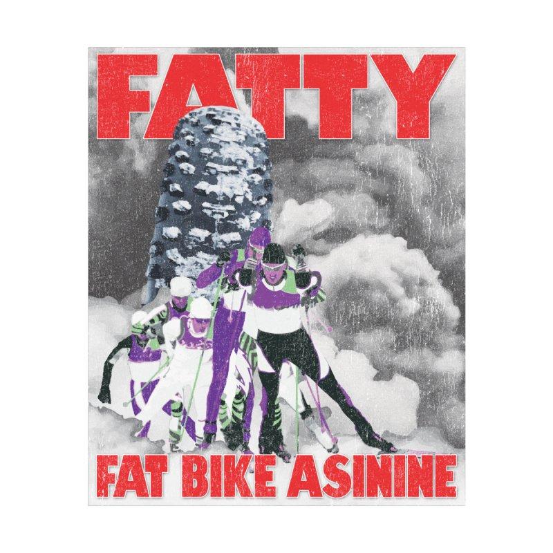 Fat Tire Jaws Cross Country by Fat Bike Asinine's Artist Shop
