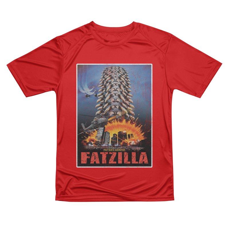 Fatzilla Women's Performance Unisex T-Shirt by Fat Bike Asinine's Artist Shop