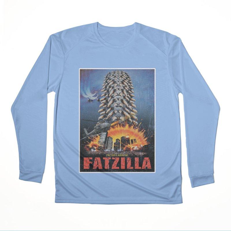 Fatzilla Men's Performance Longsleeve T-Shirt by Fat Bike Asinine's Artist Shop