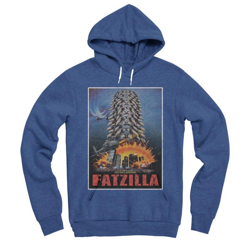 Fatzilla Women's Sponge Fleece Pullover Hoody by Fat Bike Asinine's Artist Shop