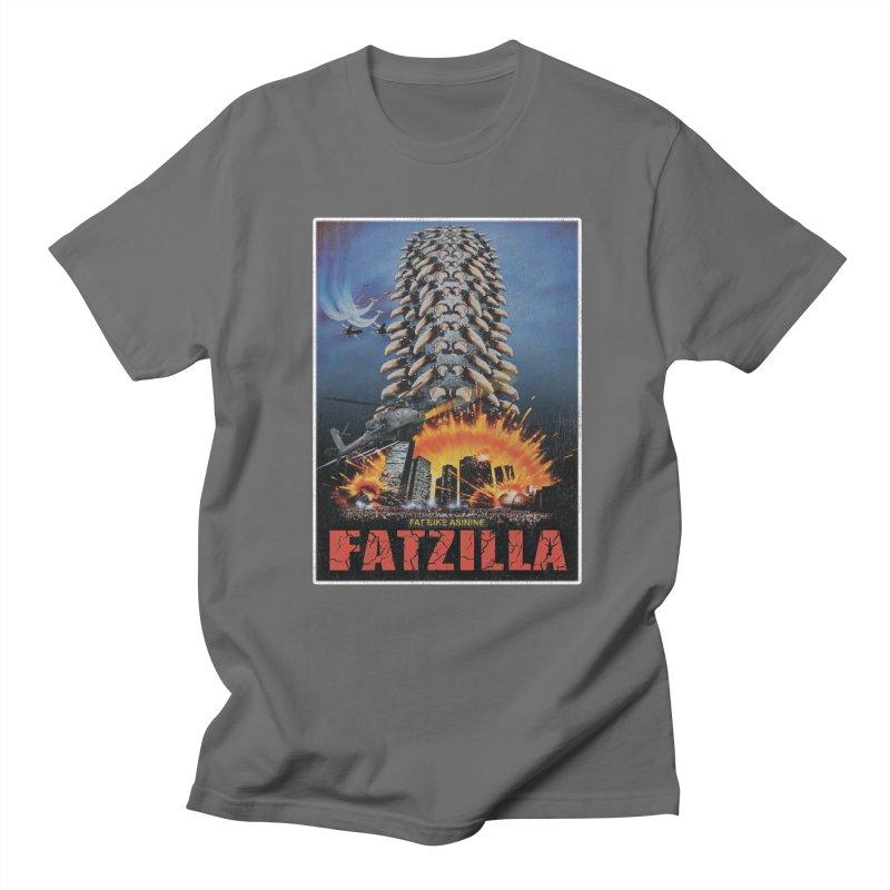 Fatzilla Men's T-Shirt by Fat Bike Asinine's Artist Shop