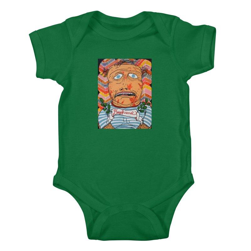 Boyfriend Kids Baby Bodysuit by FattyRomance's Artist Shop