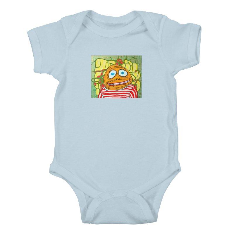 Kiddo Kids Baby Bodysuit by FattyRomance's Artist Shop