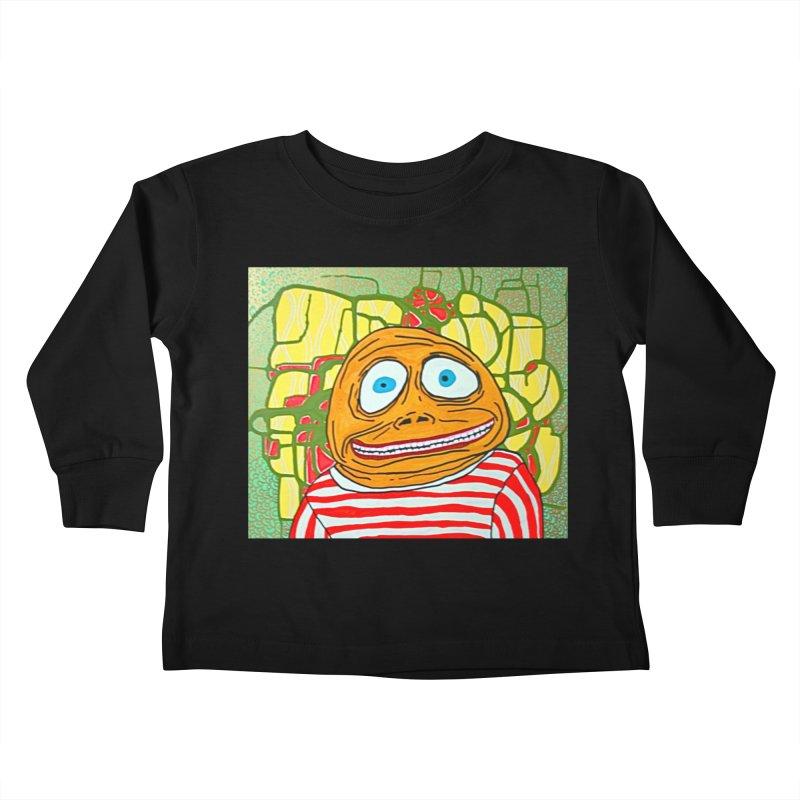 Kiddo Kids Toddler Longsleeve T-Shirt by FattyRomance's Artist Shop