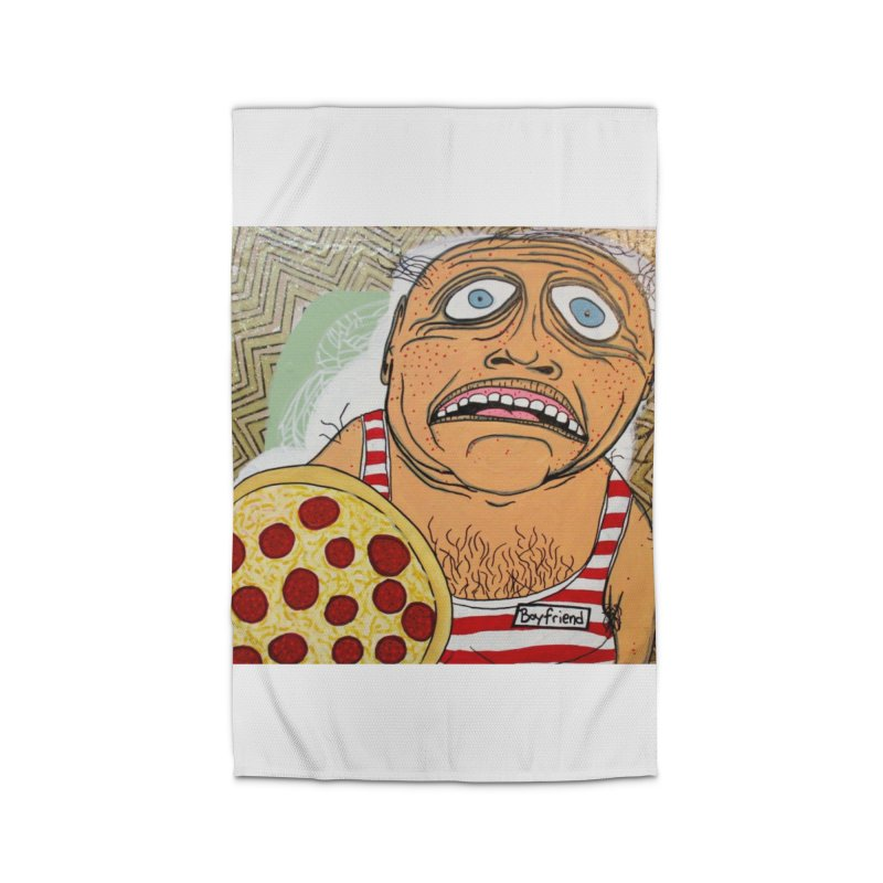 Pizza BF Home Rug by FattyRomance's Artist Shop