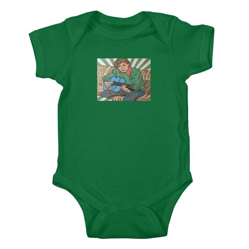 Bill Daily Kids Baby Bodysuit by FattyRomance's Artist Shop