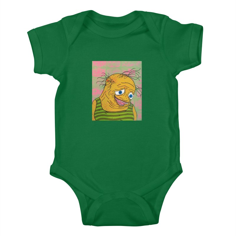 Oh Fatty Kids Baby Bodysuit by FattyRomance's Artist Shop