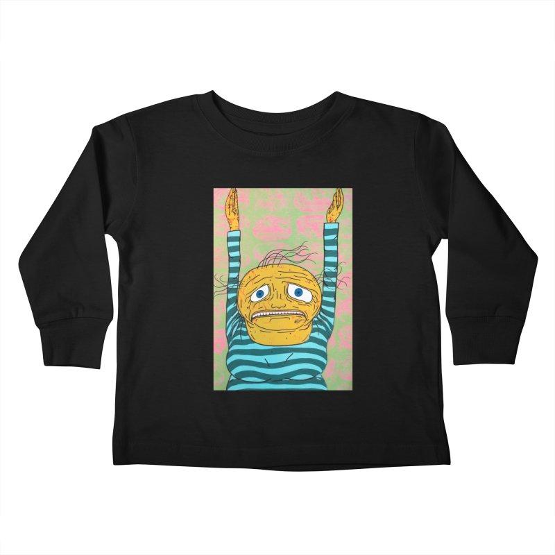 Goal! Kids Toddler Longsleeve T-Shirt by FattyRomance's Artist Shop