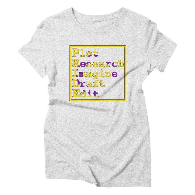 Writer's Pride (Intersex) Women's T-Shirt by Favorite Character's Shirt Artist Shop