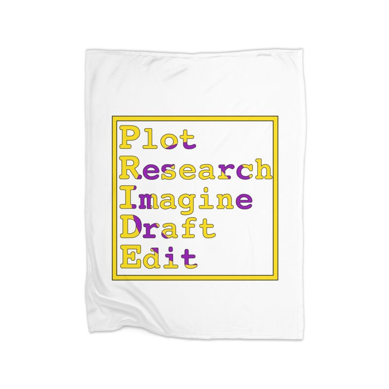 Writer's Pride (Intersex) Home Blanket by Favorite Character's Shirt Artist Shop