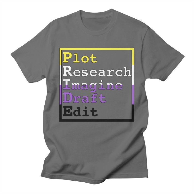 Writer's Pride (Non Binary) Men's T-Shirt by Favorite Character's Shirt Artist Shop