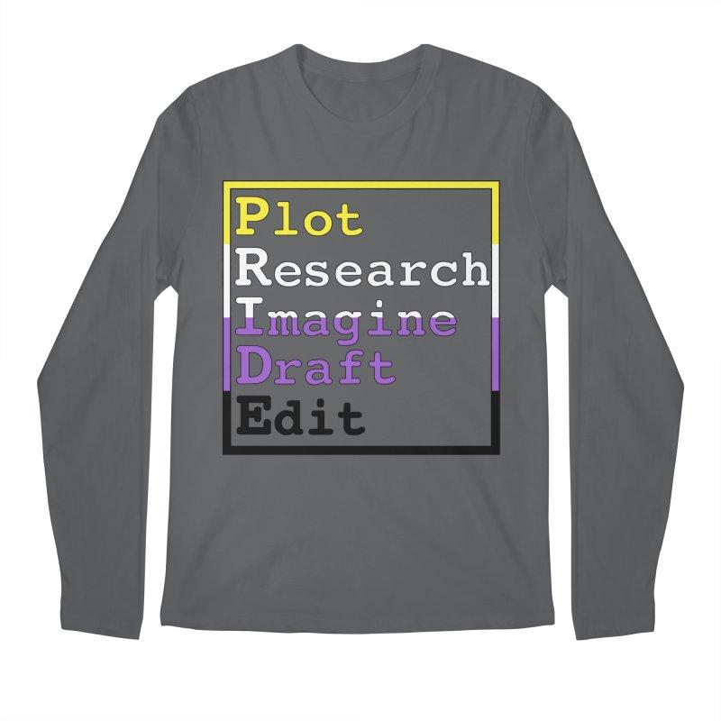 Writer's Pride (Non Binary) Men's Longsleeve T-Shirt by Favorite Character's Shirt Artist Shop