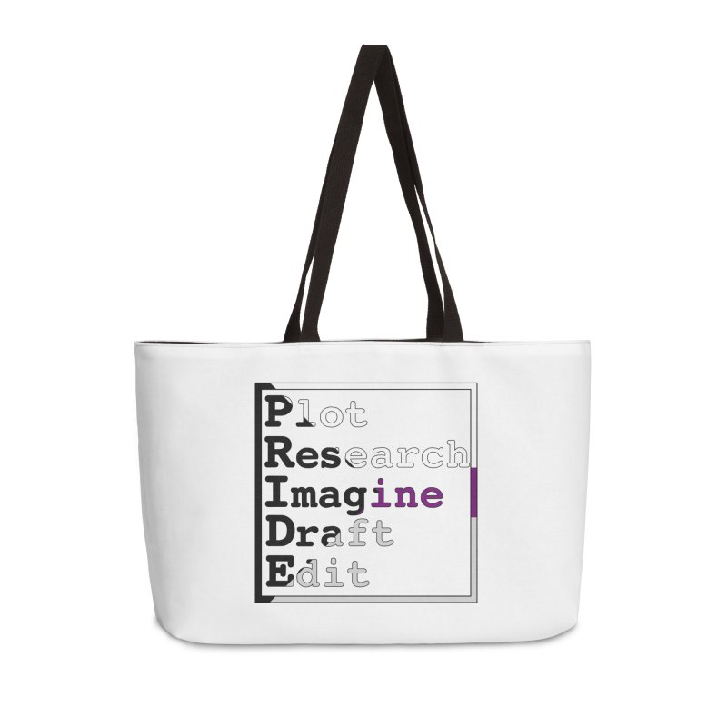 Writer's Pride (Demisexual) Accessories Bag by Favorite Character's Shirt Artist Shop