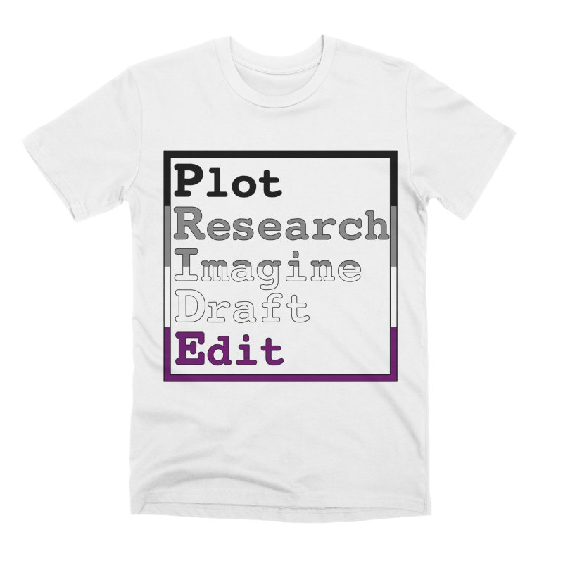 Writer's Pride (Asexual) Men's T-Shirt by Favorite Character's Shirt Artist Shop