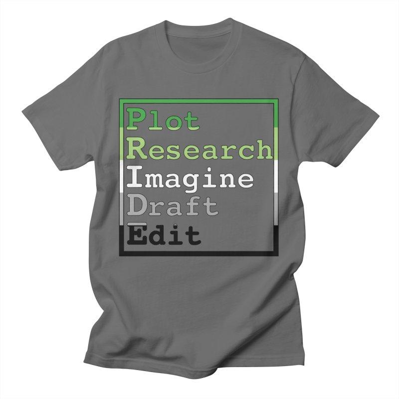 Writer's Pride (Aromantic) Men's T-Shirt by Favorite Character's Shirt Artist Shop