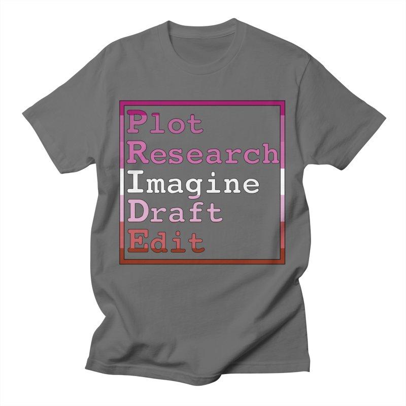 Writer's Pride (Lesbian) Men's T-Shirt by Favorite Character's Shirt Artist Shop