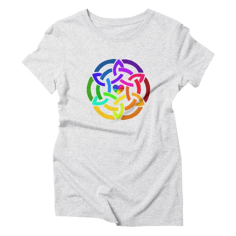 Rainbow Knot Women's T-Shirt by Favorite Character's Shirt Artist Shop